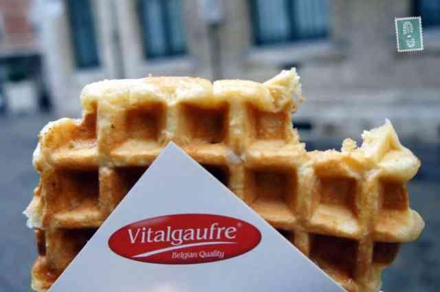 My yummy waffle