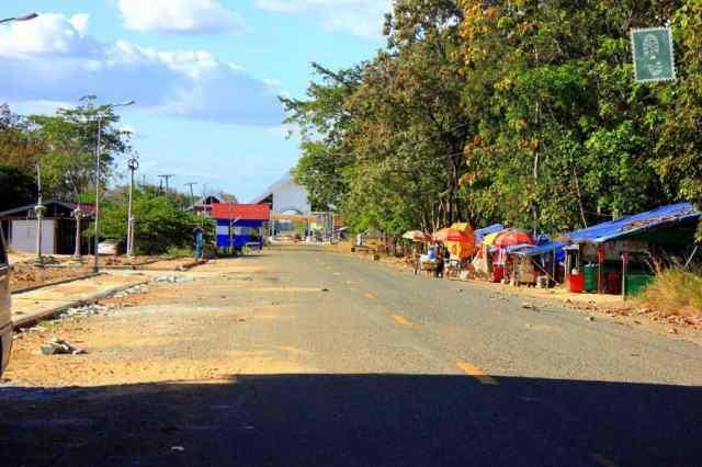 Cambodia - Laos Border Crossing