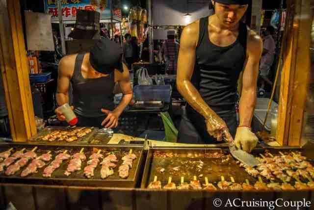 Vendor Taiwan Night Market