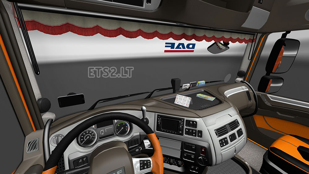 Interiors 6 for Daf euro 6 interieur