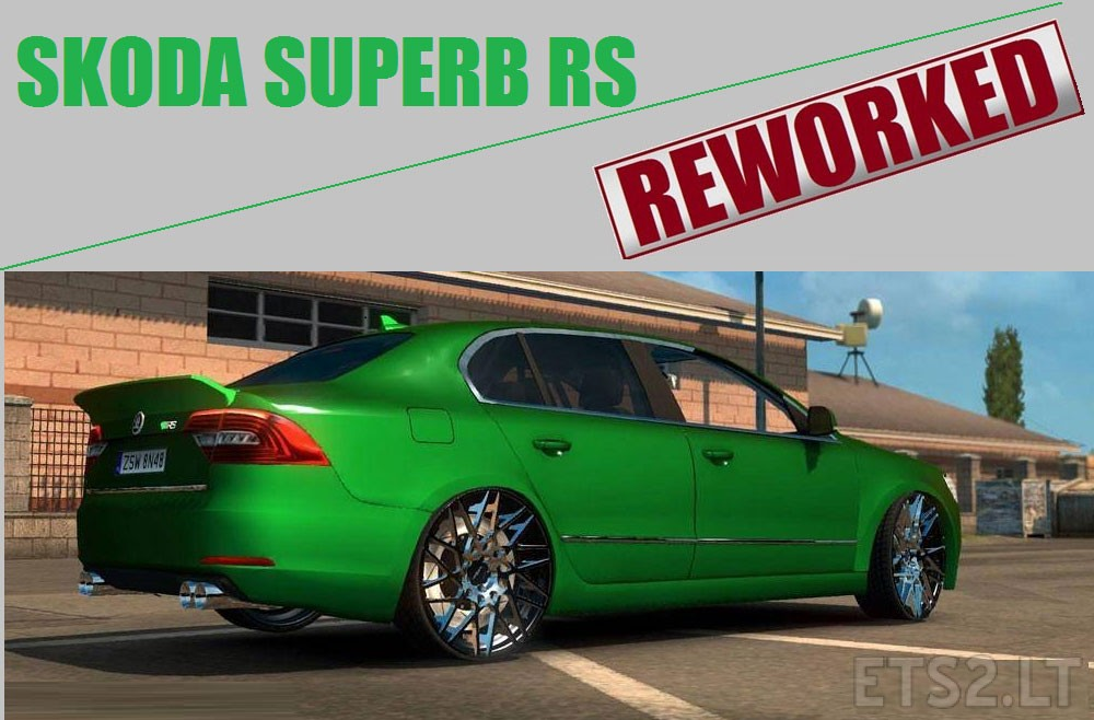 skoda superb rs reworked. Black Bedroom Furniture Sets. Home Design Ideas
