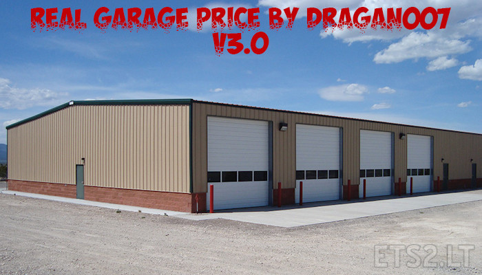 Real garage price by dragan007 v 3 0 for 2 1 2 car garage cost