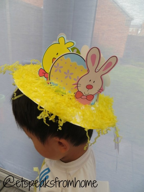 How To Make An Easter Bonnet Hat Using Paper Plate Et