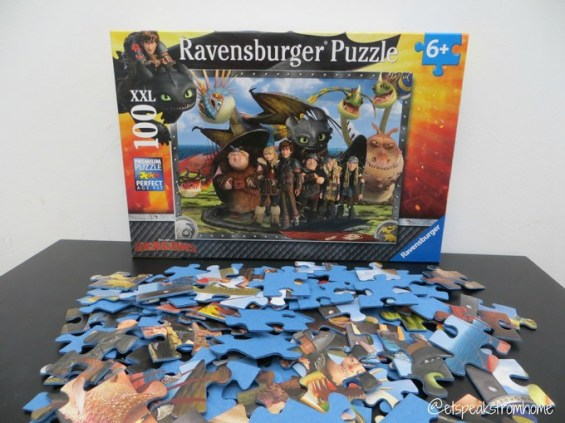 how to train a dragon 2 puzzle ravensburger