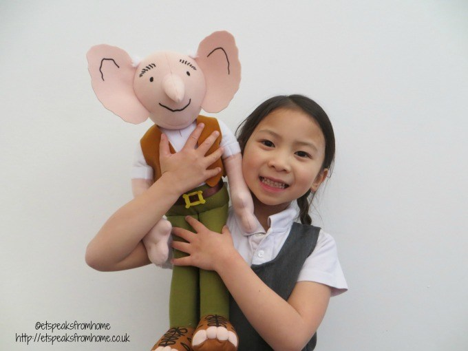 whizzpopping bfg soft toy