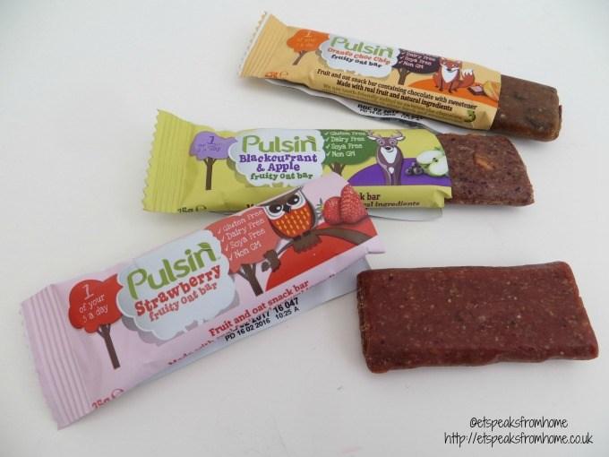 Pulsin' Kids' Fruity Oat Bars