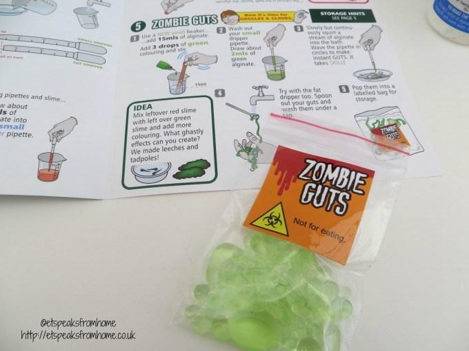 weird slime workshop instructions