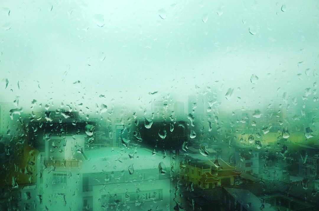 From my office in #saigon #vietnam #rain #gr #ricoh