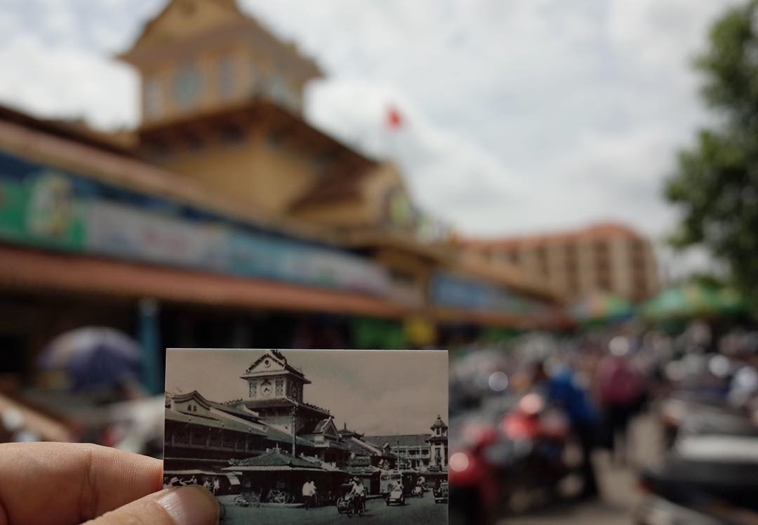 Now at Cho BInh Tay #cholon #saigon #vietnam This 86 years old market will be soon demolished. So sad. #GR #ricoh