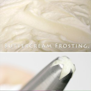 Easy Buttercream Frosting – 3-Ingredient Recipe
