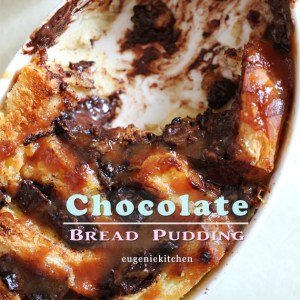 Chocolate Cinnamon Bread Pudding Recipe