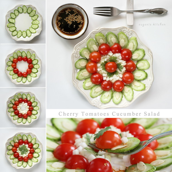 Cherry Tomato Cucumber Salad recipe
