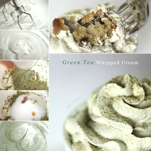 Green Tea Whipped Cream Recipe