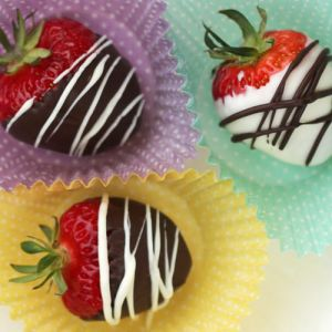 Chocolate Covered Strawberries for Party