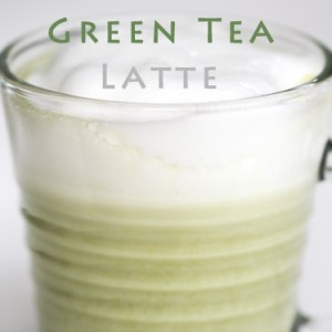 Vanilla Green Tea Latte Recipe