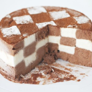 Checkerboard Ice Cream Cake – Easiest Recipe Ever!