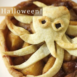 Halloween Caramel Apple Pie Recipe