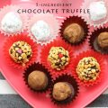 Valentine's Chocolate Truffle Recipe