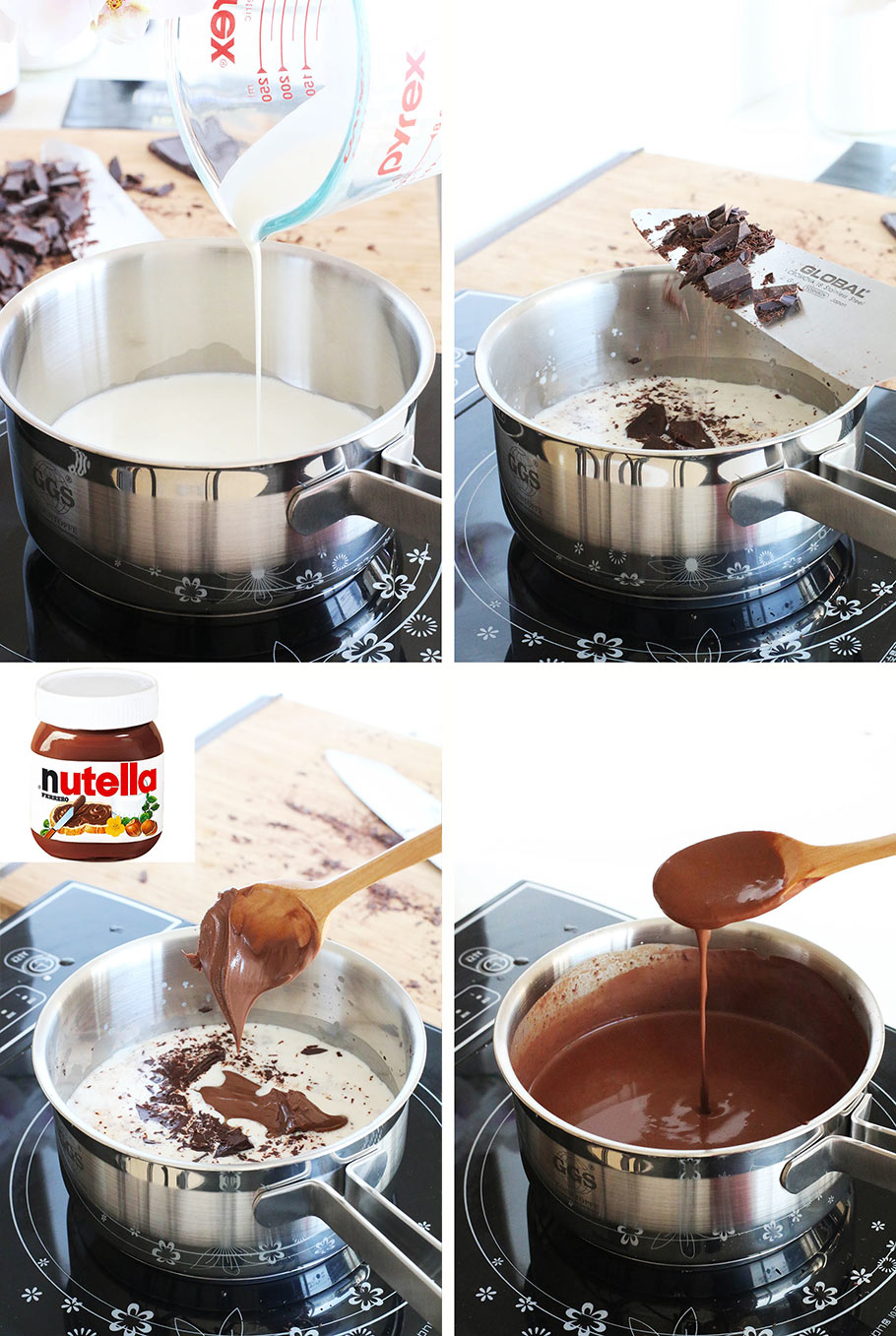 Nutella Hot Chocolate Recipe - Eugenie Kitchen