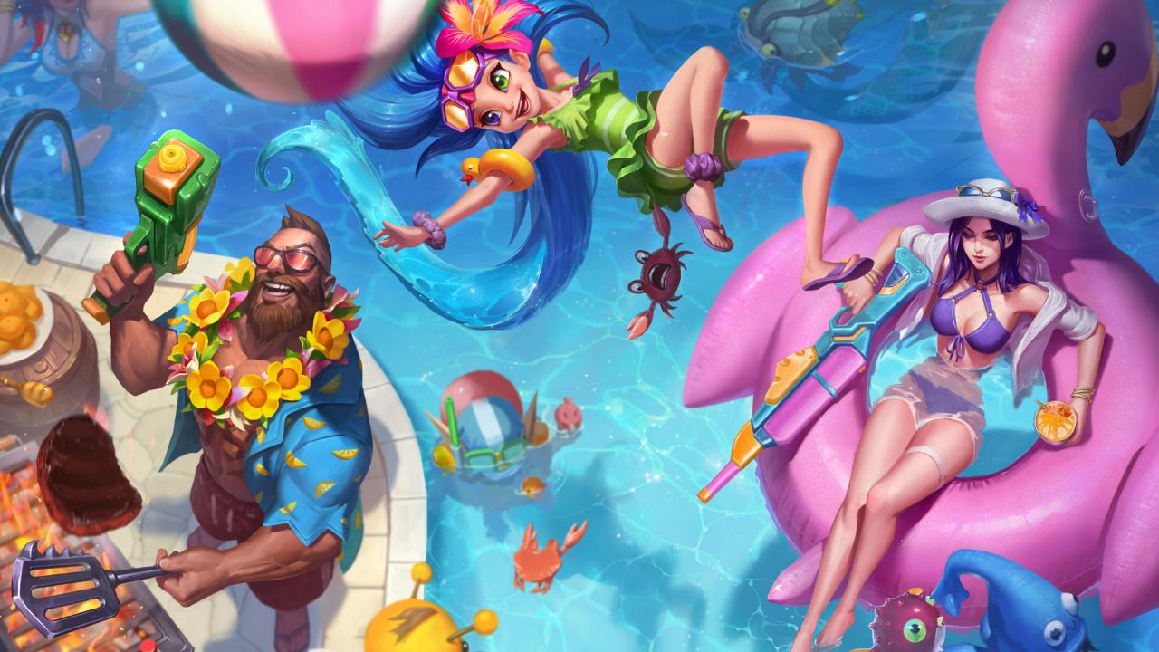 Learn more  Pool Party 2018   League of Legends Learn more  Pool Party 2018