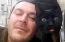 猫を助けた男性
