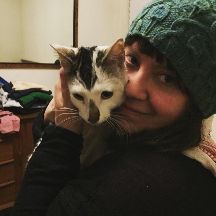 里親さんと猫