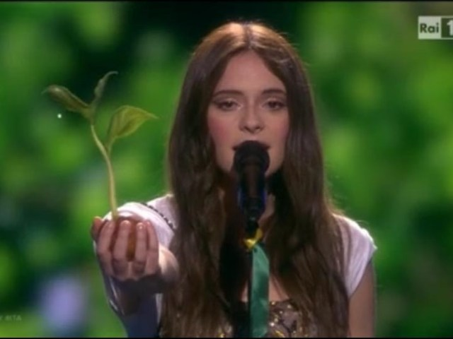 Eurovision 2016 - Francesca Michielin Finale RAI 1