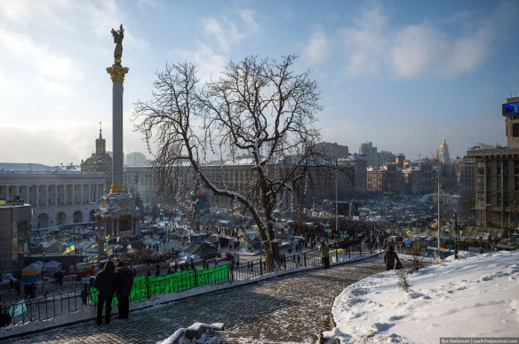 11 Anatomy of Maidan. Virtual tour of the protesters grounds
