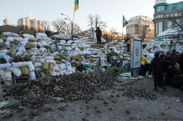 23 Anatomy of Maidan. Virtual tour of the protesters grounds