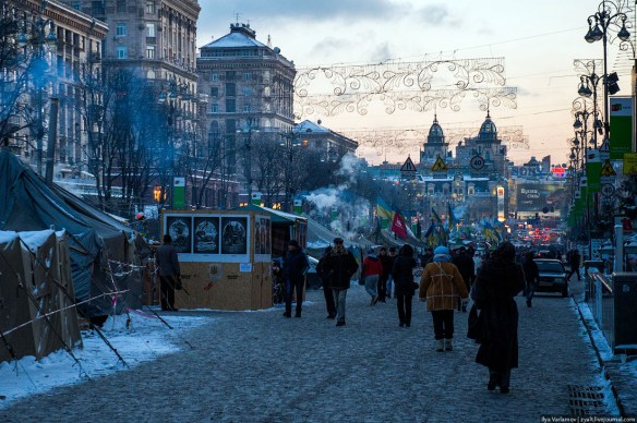 36 Anatomy of Maidan. Virtual tour of the protesters grounds