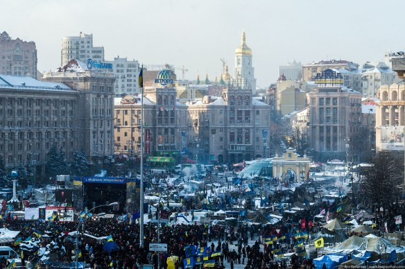 39 Anatomy of Maidan. Virtual tour of the protesters grounds