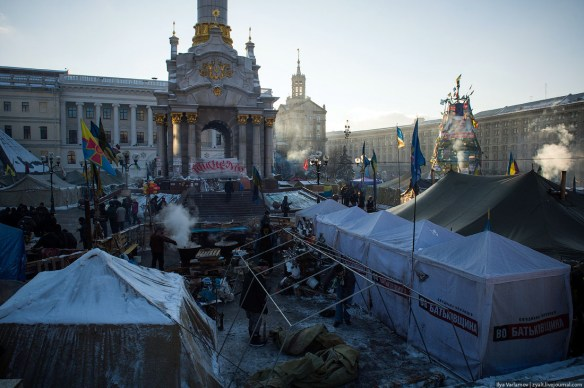 40 Anatomy of Maidan. Virtual tour of the protesters grounds