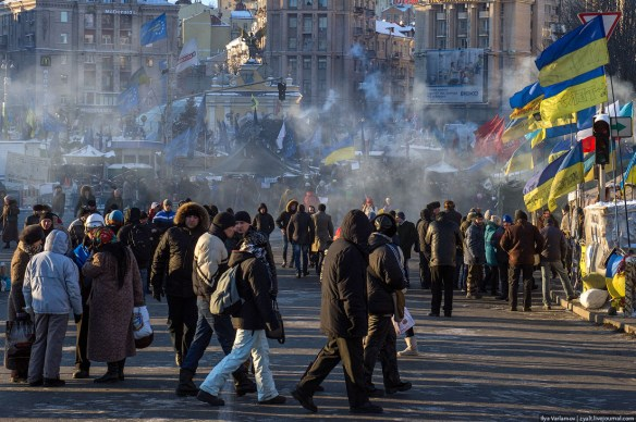 54 Anatomy of Maidan. Virtual tour of the protesters grounds