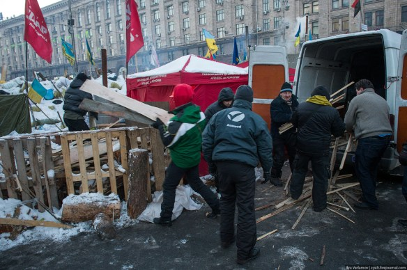 55 Anatomy of Maidan. Virtual tour of the protesters grounds