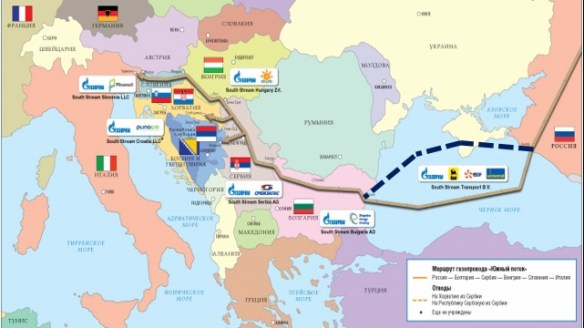 "Possible ""Crimea correction"" of ""South Stream"" sea section"