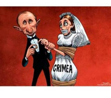 Political cartoon: Putin and Ukraine russia-rogue-state