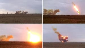 Crash of the Russian Proton-M rocket on Friday, May 15, 2014