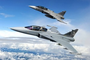 JAS-39C Gripen not yet able to fire the AGM-88E.