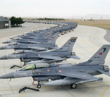 What an F-16 wing looks like (Turkish Air Force)