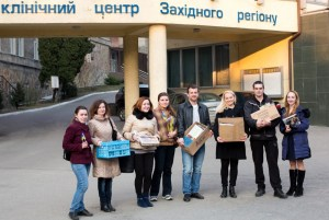 2015.03_LvivVolunteers_Books for Soldiers