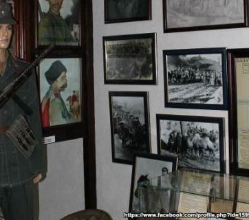 Exposition of photographs at the Cossack Museum of Anti-Bolshevik Resistance in Podolsk, Russia (Image: Social media)