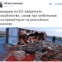"The tweet says: ""After they found out about mobile crematoria-ovens at Russian customs, the tomatoes from EU preferred suicide."" (Image: social media)"