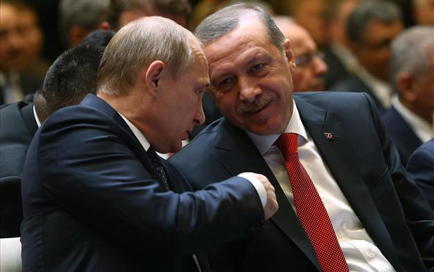 Putin Erdogan Russia Turkey friendship