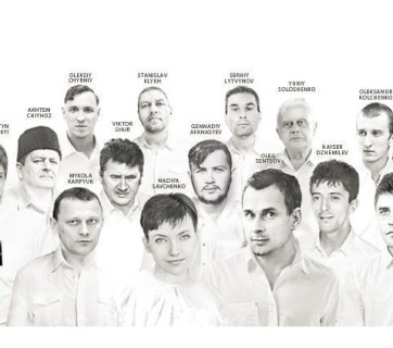 Some of the Ukrainian political prisoners of the Kremlin