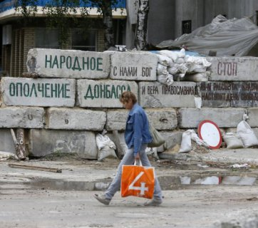Russia is trying to freeze the war in the Donbas and make it into a second depressive Transdniestria. (Image: UNIAN)
