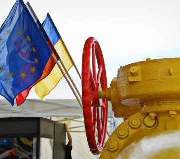 Ukraine has increased  gas reverse flows from Slovakia. Photo from: kmu.gov.ua