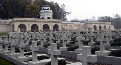 Polish Young Eagles Memorial at Lychakivsky Cemetary, Lviv, Ukraine