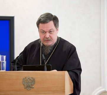 Archpriest Vsevolod Chaplin of the Russian Orthodox Church -- Moscow Patriarchate (Image: Wikipedia)