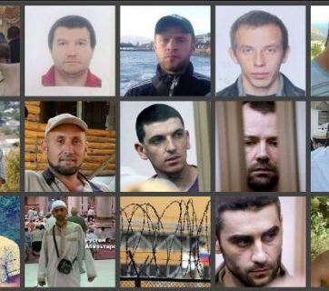 Some of the Crimeans murdered or illegally imprisoned by Russian occupation forces
