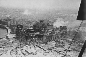 Ruins of the Reichstag, Berlin, Germany, May 1945